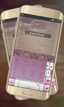 Strange Art Keypad Cover apk screenshot