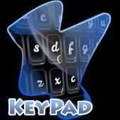 Stylish Black Keypad Cover icon