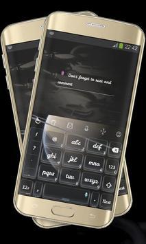 Stylish Black Keypad Cover screenshot 3