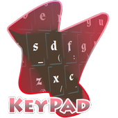 Stylish Brown Keypad Cover icon