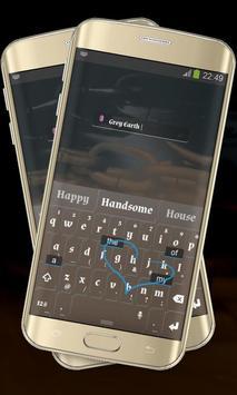 Stylish Brown Keypad Cover apk screenshot