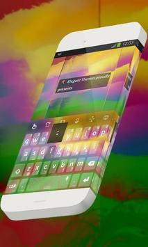 Alluring sunset Keypad Theme poster