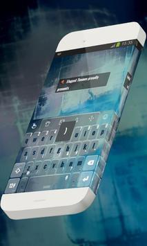 Blue waters Keypad Theme screenshot 4