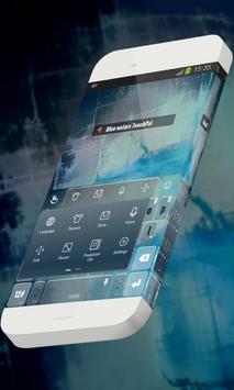 Blue waters Keypad Theme screenshot 1