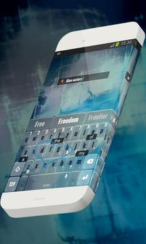 Blue waters Keypad Theme screenshot 2
