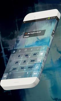 Blue waters Keypad Theme screenshot 3