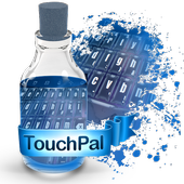 Blueish galaxy Keypad Theme icon