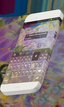 Changing colors Keypad Theme poster