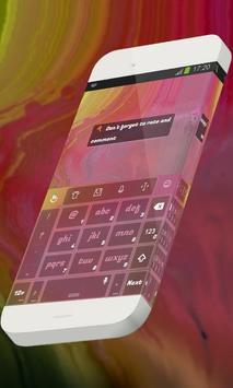 Cherry rose Keypad Theme apk screenshot