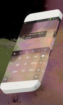 Clouds of stars Keypad Theme apk screenshot