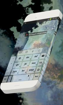 Coal nuances Keypad Theme apk screenshot