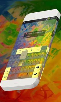 Colored seaweed Keypad Theme poster