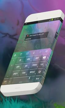 Colorful corals Keypad Theme apk screenshot