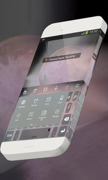 Covered moon Keypad Theme apk screenshot