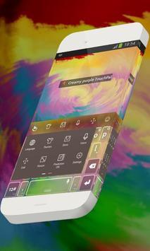 Creamy purple Keypad Theme screenshot 1