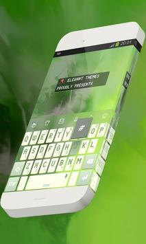 Crowned bird Keypad Theme poster