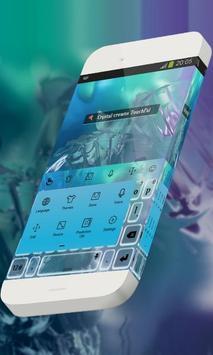 Crystal crowns Keypad Theme apk screenshot