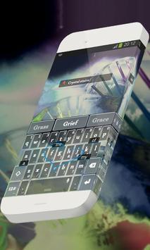 Crystal stairs Keypad Theme apk screenshot