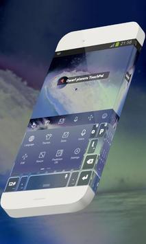 Dwarf planets Keypad Theme apk screenshot
