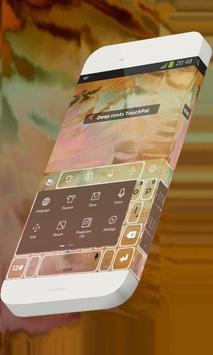 Deep roots Keypad Theme apk screenshot