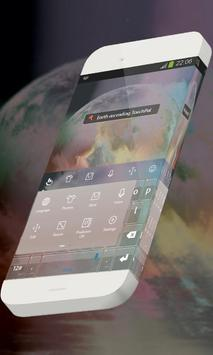 Earth ascending Keypad Theme apk screenshot