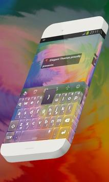 Energetic colors Keypad Theme poster