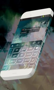 Fading clouds Keypad Theme apk screenshot