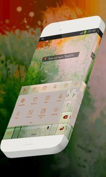 Fern and moss Keypad Theme apk screenshot