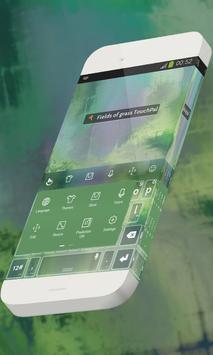 Fields of grass Keypad Theme apk screenshot