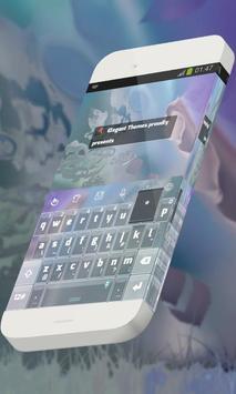 Flying dragons Keypad Theme apk screenshot
