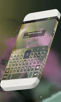 Friendly warmth Keypad Theme poster