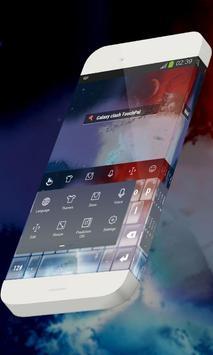 Galaxy clash Keypad Theme apk screenshot