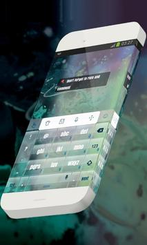 Great cosmos Keypad Theme apk screenshot