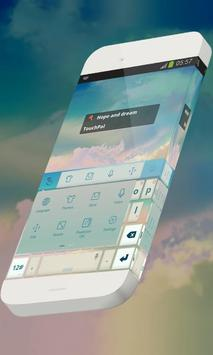 Hope and dream Keypad Theme apk screenshot
