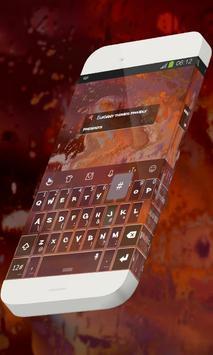 Hot volcano Keypad Theme poster