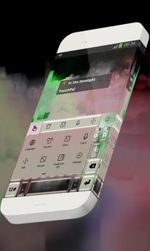 In the limelight Keypad Theme apk screenshot