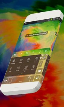 Infinite wave Keypad Theme apk screenshot