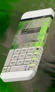 Jade statue Keypad Theme apk screenshot