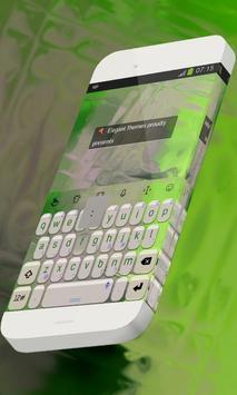 Jade statue Keypad Theme poster