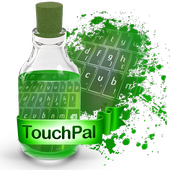 Joyful green Keypad Theme icon