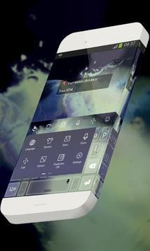 Luminous distance Keypad Theme apk screenshot