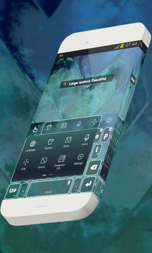 Large waters Keypad Theme apk screenshot