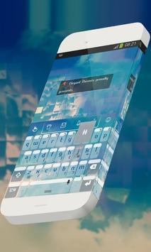 Lit moon Keypad Theme poster