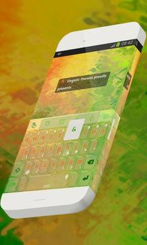 Lively nature Keypad Theme poster