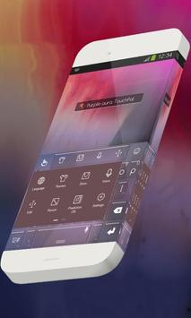 Purple aura Keypad Theme apk screenshot