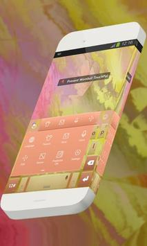 Present Wombat Keypad Theme apk screenshot