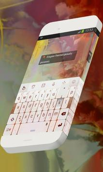 Red Curiosity Keypad Theme poster