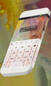 Red Curiosity Keypad Theme apk screenshot