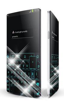 Back to black Keypad Art poster