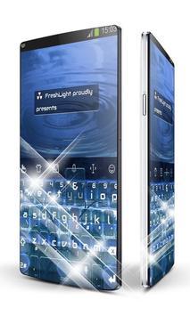 Blue Night Keypad Art poster